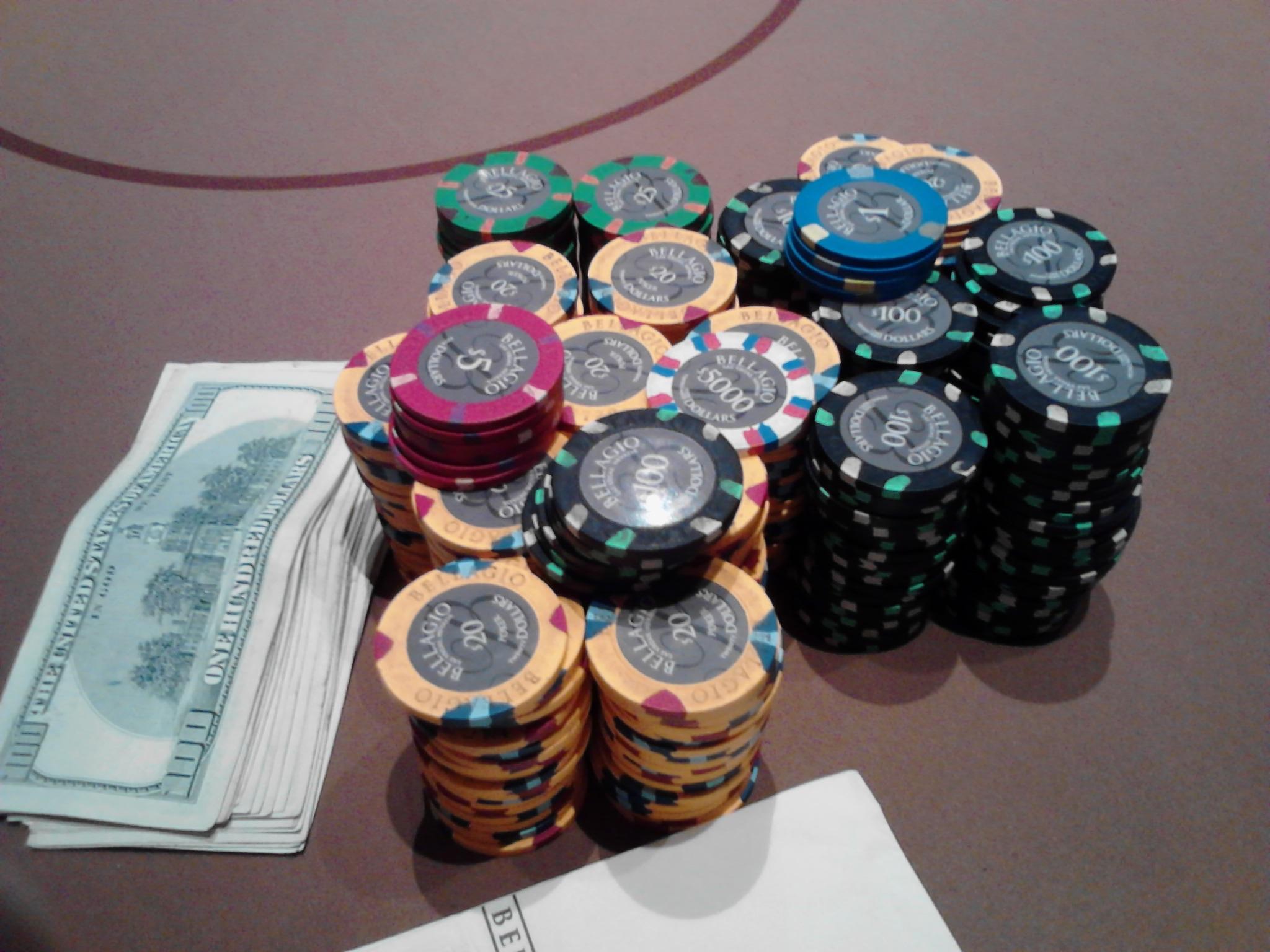 Cash game bij Bellagio