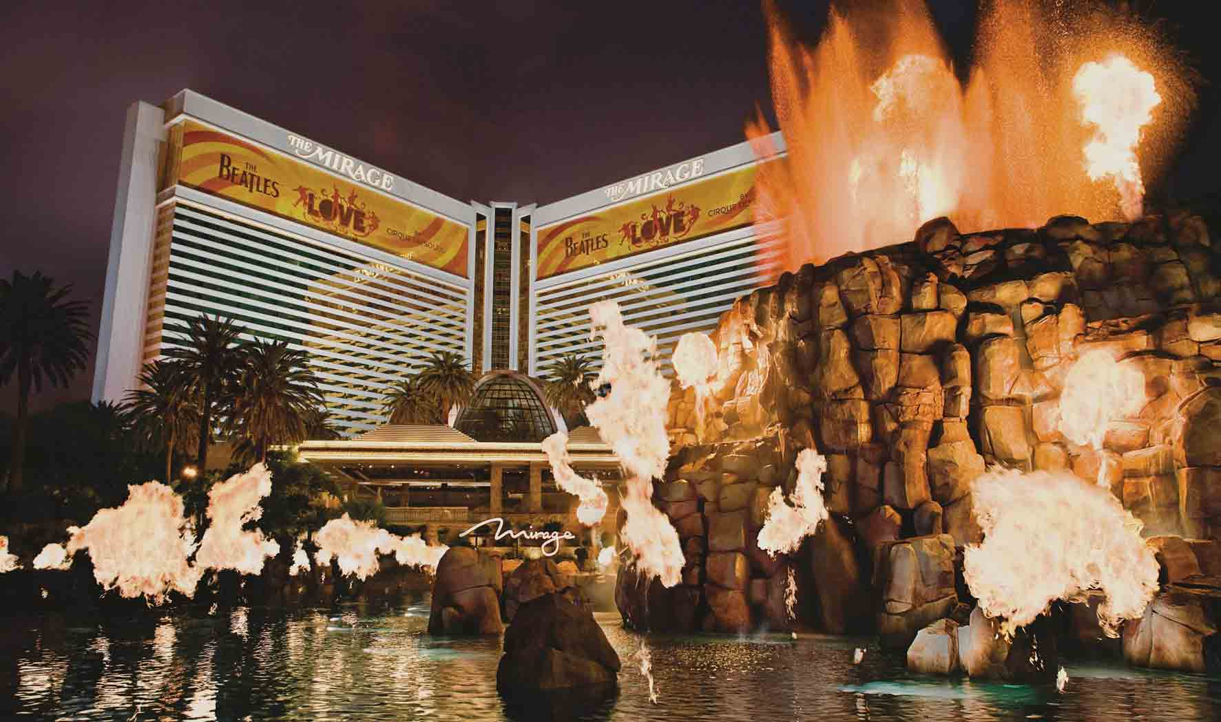 Pokeren in Las Vegas: The Mirage